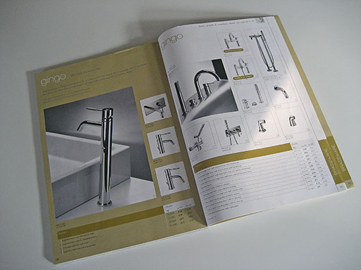 Artwork for product catalogue