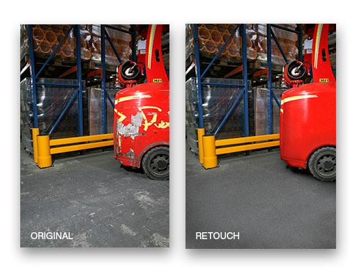 Photographic retouching