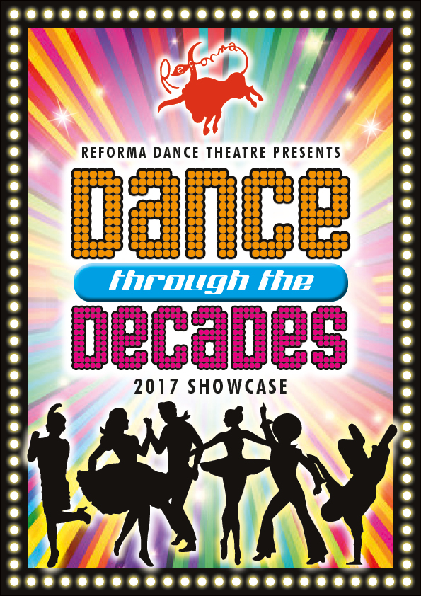 Dance Show Promotional Poster And Programme Outsourced