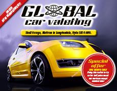 Car valeting leaflet design and printing