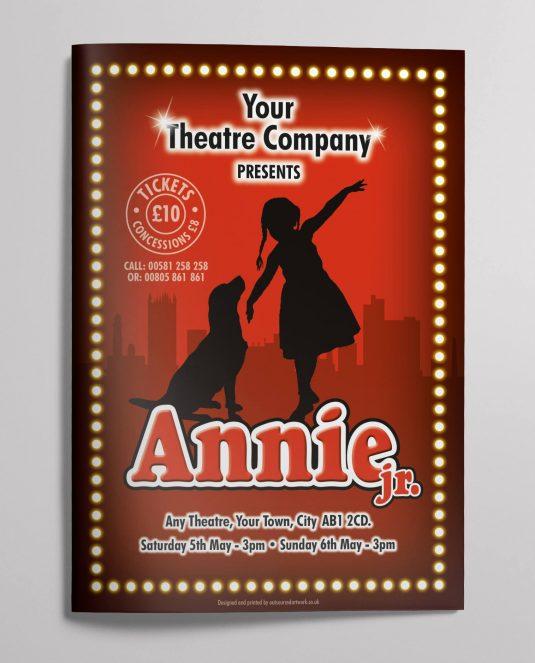 Annie-Theatre-Show-Programme-design