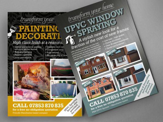 UPVC-spraying-leaflet-printing