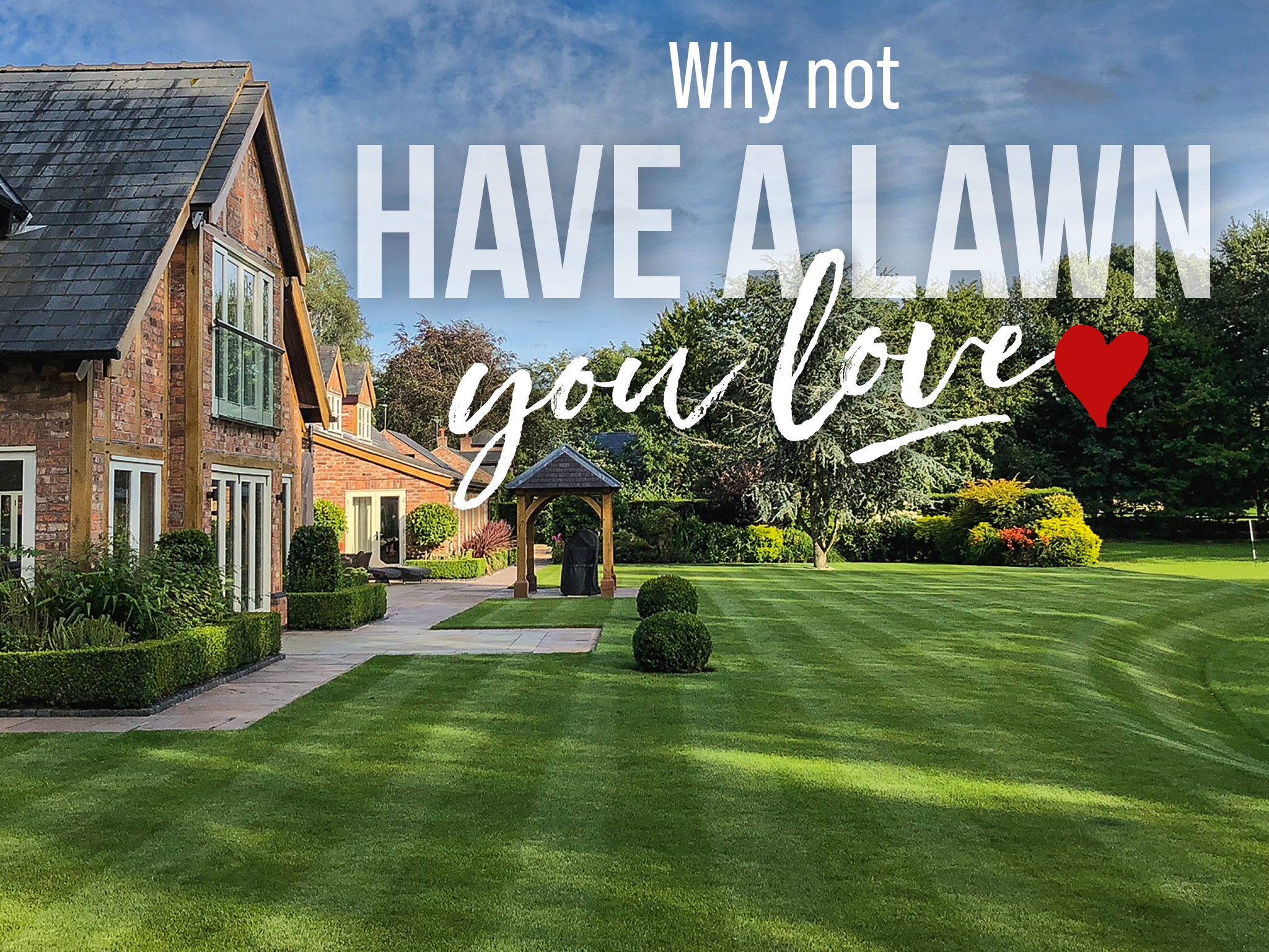 Graphic Design and printing for landscape gardening and lawncare